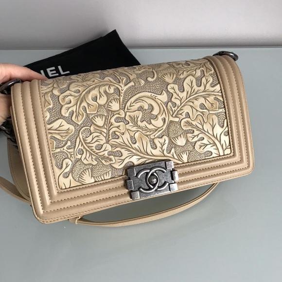 CHANEL Handbags - SOLD❌Chanel Dallas Collection Medium Size Boy Bag